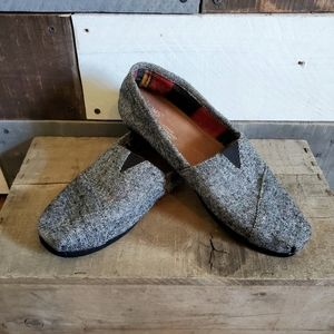 Toms canvas classic slip on flats loafers